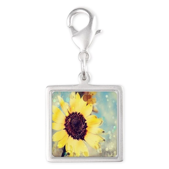 summer botanical watercolor sunflower