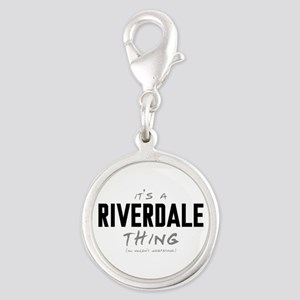 It's a Riverdale Thing Silver Round Charm
