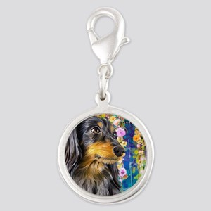 Dachshund Painting Charms
