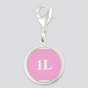 1L Pink/White Charms