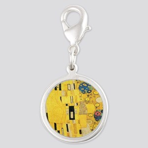 Klimt the Kiss Pattern Detail Charms