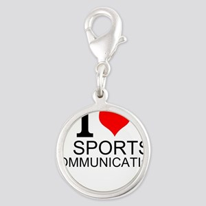 I Love Sports Communications Charms