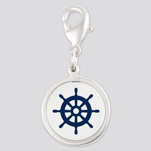 Custom nautical ship wheel Charms