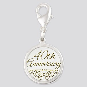 40th Anniversary Charms