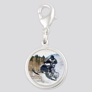 Airborne Snowmobile Charms