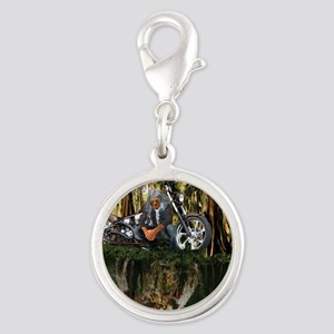 Native Reflections Silver Round Charm