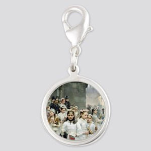 after-the-communion - Carl Fri Silver Round Charm