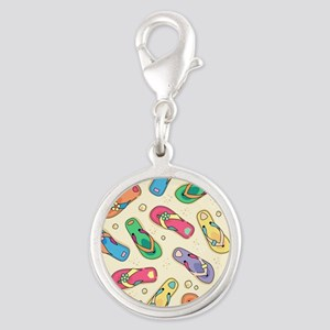 Colorful Flip Flops Charms