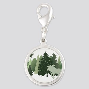 Moose in the Forest Charms