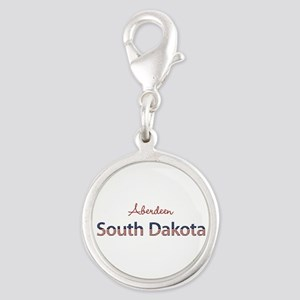 Custom South Dakota Silver Round Charm