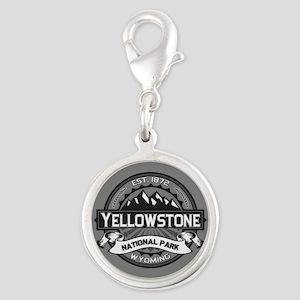 Yellowstone Ansel Adams Silver Round Charm