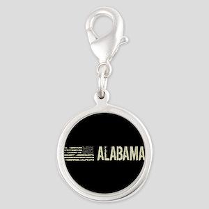 Black Flag: Alabama Silver Round Charm