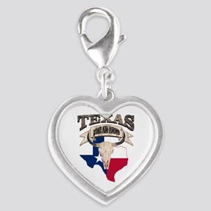Bull Skull Texas home Charms