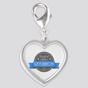 Certified Addict: Grey's Anatomy Silver Heart Char