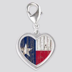 barn wood Texas Flag Charms