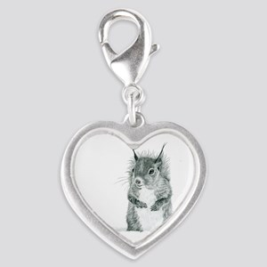 Cute Squirrel Drawing Charms