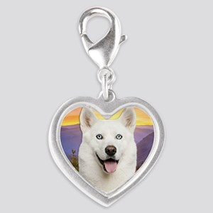 meadow2 Silver Heart Charm