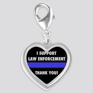 I Support Law Enforcement Charms