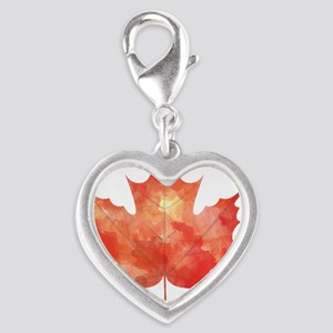 Maple Leaf Art Charms