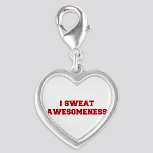 I-SWEAT-AWESOMENESS-FRESH-RED Charms