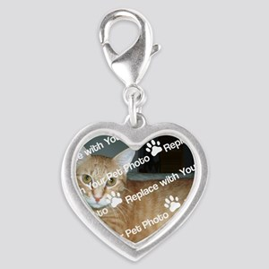 CUSTOMIZE With Your Pet Photo Charms