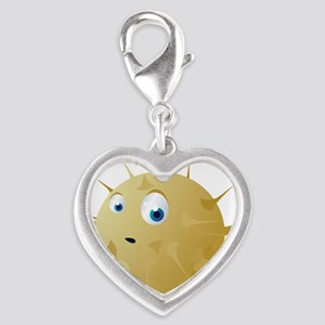 Cartoon Puffer Fish Charms
