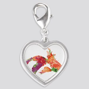 watercolor goldfish Charms