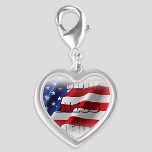 Patriotic God Bless America Charms