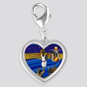 6-today83 Silver Heart Charm