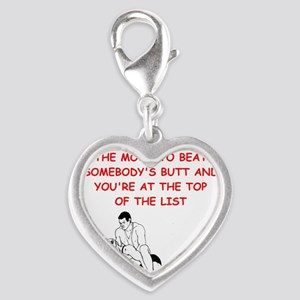 wrestling joke on gifts and t-shirts. Charms