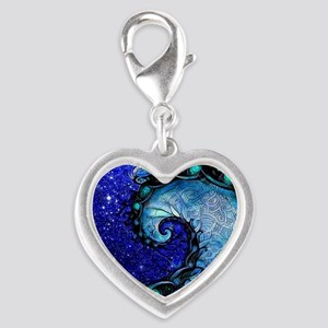 Beautiful Blue Fractal Spiral of Nocturne o Charms