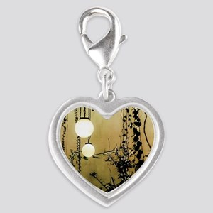 A Quiet Place Silver Heart Charm