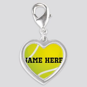 Personalized Tennis Ball Charms