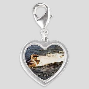 jack large framed print Silver Heart Charm