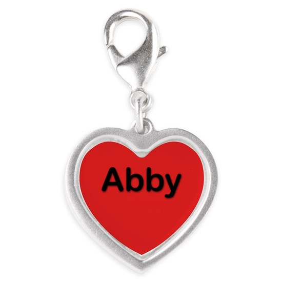 Abby Red Heart