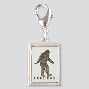 I believe in the Bigfoot Silver Portrait Charm