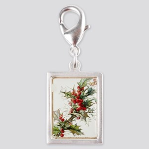 Holly and berries Charms