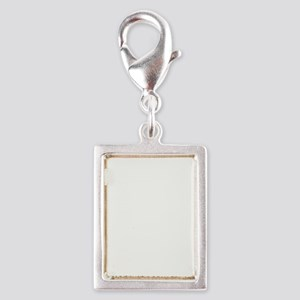 Family Christmas Silver Portrait Charm