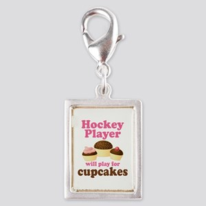 Hockey Player cute Charms