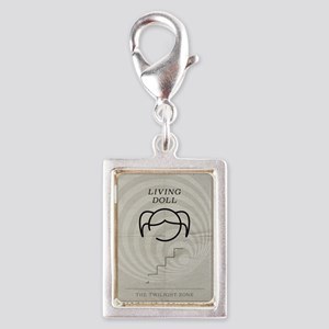 Living Doll Silver Portrait Charm
