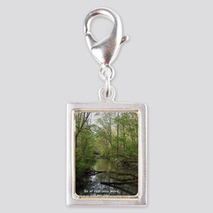 YellowSprings-Springtime-1-p Silver Portrait Charm