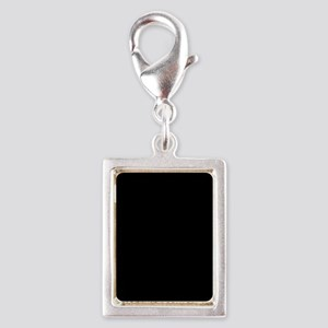 Black solid color Charms