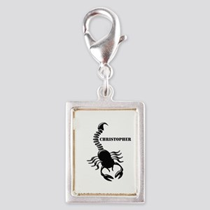 Personalized Black Scorpion Charms