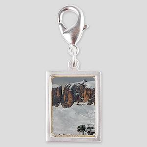 Sella Ronda - Alta Badia Silver Portrait Charm