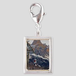 Sella Ronda - Alta Badia Gon Silver Portrait Charm