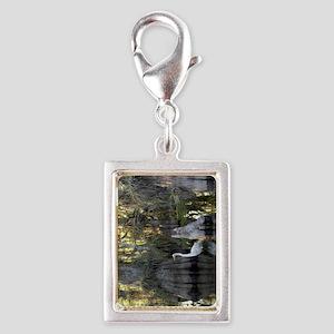 everglades 443 Silver Portrait Charm