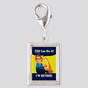 Rosie The Retired Riveter Charms