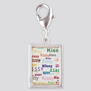 KISSY,KISSY,KISSY,KISSY. RES Silver Portrait Charm