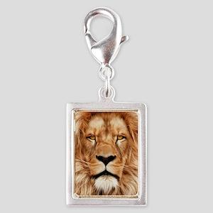 Lion - The King Silver Portrait Charm