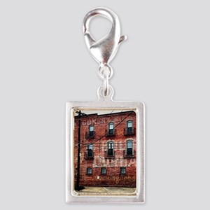 Coca-Cola Ghost Sign Silver Portrait Charm